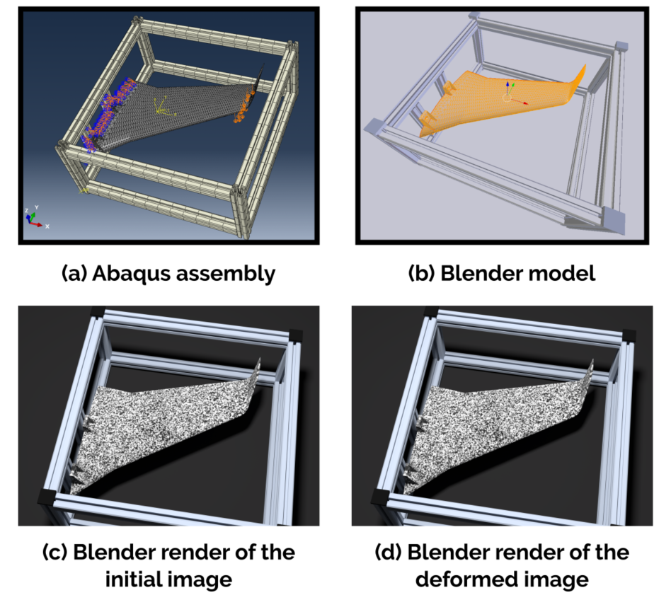 Virtual design of experiments with Blender - Eikosim